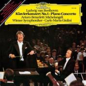 Arturo Benedetti Michelangeli, Wiener Symphoniker, Carlo Maria Giulini: Beethoven: Concerto for Piano and Orchestra No.1 - Plak