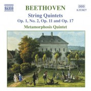Beethoven: String Quintets, Opp. 1, 11 and 17 - CD