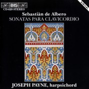 Joseph Payne: de Albero: Sonatas para clavicordio - CD