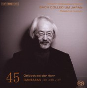 Bach Collegium Japan, Masaaki Suzuki: Bach: Cantatas, Vol. 45 - CD