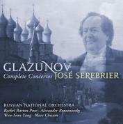 José Serebrier, Russian National Orchestra: Glazunov: Complete Concertos - CD