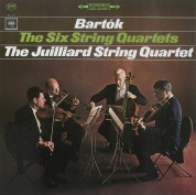 Juilliard String Quartet: Bartok: String Quartets No. 1 - 6 - Plak