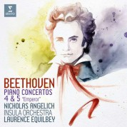 Nicholas Angelich, Insula Orchestra, Laurence Equilbey: Beethoven: Piano Concertos No. 4 & 5 - CD