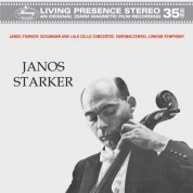 János Starker, London Symphony Orchestra, Stanislaw Skrowaczewski: Schumann/ Lalo: Cello Concerti - Plak