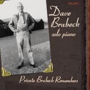 Dave Brubeck: Private Brubeck Remembers - CD