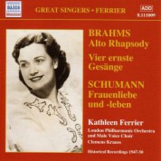 Brahms: Alto Rhapsody / Schumann: Frauenliebe Und Leben (Ferrier) (1947-1950) - CD
