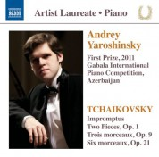 Andrey Yaroshinsky: First Prize, 2011 Gabala International Piano Competition, Azerbaijan - CD