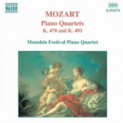 Mozart: Piano Quartets, K. 478 and K. 493 - CD
