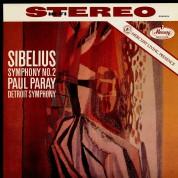 Paul Paray, Detroit Symphony Orchestra: Sibelius: Symphonie No.2 - Plak