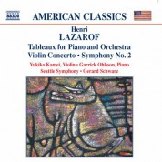 Lazarof: Tableaux / Violin Concerto / Symphony No. 2 - CD