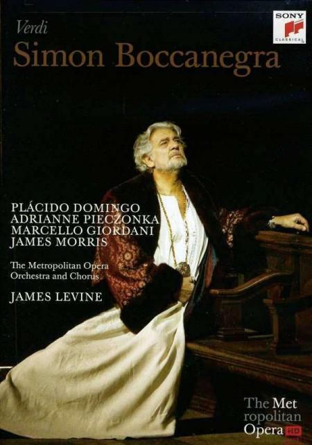 Plácido Domingo, Adrianne Pieczonka, James Levine, Metropolitan Opera Orchestra: Verdi: Simon Boccanegra - DVD