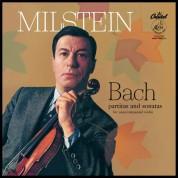 Nathan Milstein: Bach Partitas & Sonatas For Unaccompanied Violin - Plak