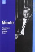 Yehudi Menuhin - Mendelssohn, Brahms, Sarasate, Bazzini + 2 Bonus Films - DVD