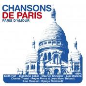 Çeşitli Sanatçılar: Chansons De Paris - Paris D'amour - CD