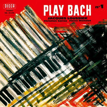 Jacques Loussier Trio: Play Bach No. 1 - Plak