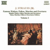 Strauss II: Waltzes, Polkas, Marches and Overtures, Vol.  2 - CD