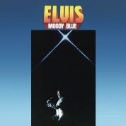 Elvis Presley: Moody Blue (40th Annıversary Clear Blue Vınyl) - Plak