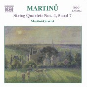 Martinu Quartet: Martinu, B.: String Quartets Nos. 4, 5 and 7 - CD