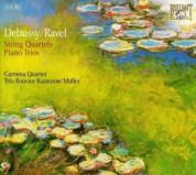 Carmina Quartet, Jacques Rouvier, Jean-Jacques Kantorow, Philippe Müller: Debussy, Ravel: String Quartets - Piano Trios (EUR) - CD