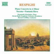 Konstantin Scherbakov: Respighi: Piano Concerto in A minor - CD