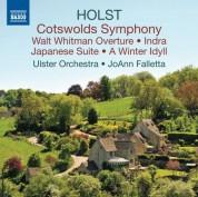 JoAnn Falletta: Holst: Cotswolds Symphony - Walt Whitman Overture - CD