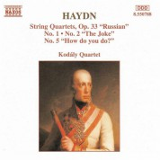 Haydn: String Quartets Op. 33, Nos. 1, 2 and 5 - CD