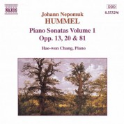 Hae Won Chang: Hummel: Piano Sonatas, Vol. 1 - Nos. 2, 3, 5 - CD