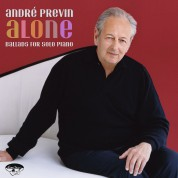 André Previn: Alone: Ballads For Solo Piano - CD