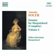 Soler, A.: Sonatas for Harpsichord, Vol.  2 - CD