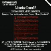 St. Jacob's Chamber Choir, Gary Graden, Mattias Wager, Paula Hoffman, Peter Mattei, Elemér Lavotha: Duruflé: Requiem - CD