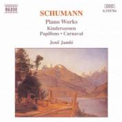Jeno Jando: Schumann, R.: Kinderszenen / Papillons / Carnaval - CD