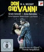 Thomas Hengelbrock, Erwin Schrott, Anna Netrebko: Mozart: Don Giovanni - BluRay
