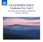 Theodore Kuchar, Ukrainian State Symphony Orchestra: Lyatoshynsky: Symphonies Nos. 2 & 3 - CD