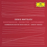Denis Matsuev: Shostakovich, Schnittke, Lutoslawski: Piano Concerto No.1 - CD