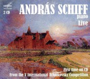 András Schiff: Live From The 5th International Tchaikovsky Competition 1974 - CD