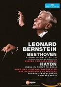 Beethoven/ Haydn: String Quartet No.16 (Version for orchestra)/ Missa in Tempore Belli - DVD