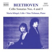 Beethoven: Cello Sonatas Nos. 4 and 5, Op. 102 - CD