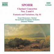 Spohr: Clarinet Concertos Nos. 2 and 4 / Fantasia, Op. 81 - CD