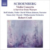 Robert Craft: Schoenberg, A.: Violin Concerto / Ode To Napoleon / A Survivor From Warsaw - CD