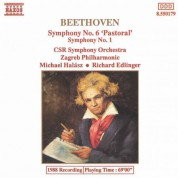 Richard Edlinger, Michael Halász, Slovak Radio Symphony Orchestra, Zagreb Philharmonic Orchestra: Beethoven: Symphonies Nos. 6 & 1 - CD