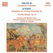 French Music for Piano and Orchestra - CD