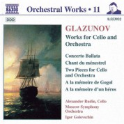 Alexander Rudin: Glazunov, A.K.: Orchestral Works, Vol. 11 - Concerto Ballata / Chant Du Menestrel - CD