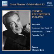 Benno Moiseiwitsch: Moiseiwitsch, Vol. 13 - CD