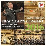 Wiener Philharmoniker, Mariss Jansons: New Year's Concert 2016 - Plak