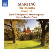 Giorgio Koukl, Jana Wallingerova: Martinů: Songs, Vol. 2 - CD