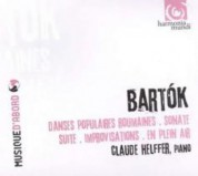 Claude Helffer: Bartok: Danses Populaires Roumaines, Sonate, Suite, En plein air - CD