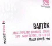 Claude Helffer: Bartok: Danses Populaires Roumaines, Sonate, Suite, En plein air - CD