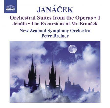 Peter Breiner: Janacek, L.: Operatic Orchestral Suites, Vol. 1  - Jenufa / The Excursions of Mr Broucek - CD