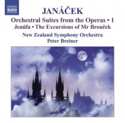 Peter Breiner: Janacek, L.: Operatic Orchestral Suites, Vol. 1  - Jenufa / The Excursions of Mr Broucek - CD