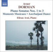 Dorman: Piano Sonatas 1-3 / Moments Musicaux / Azerbaijani Dance - CD